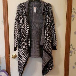 Mossimo draped cardigan sweater XXL